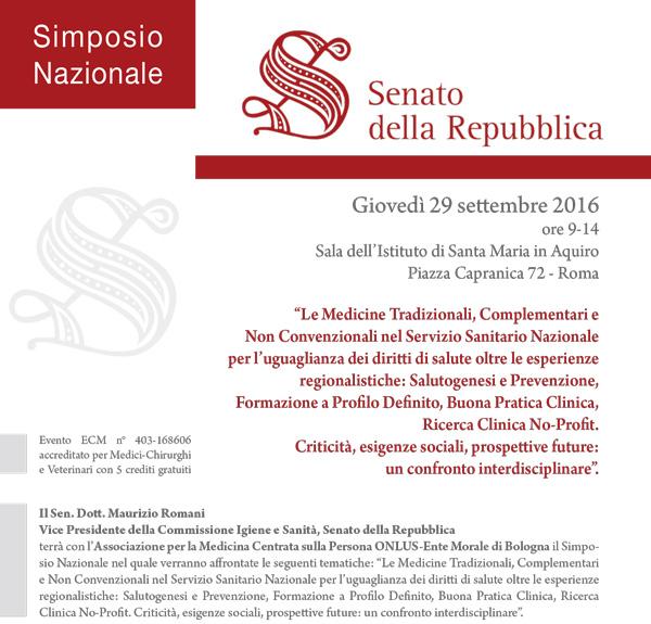 PROGRAMMA DEL SIMPOSIO NAZIONALE MNC 2016